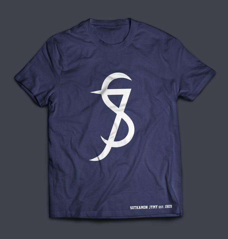 Sotkamon Jymy Retro Logo Design