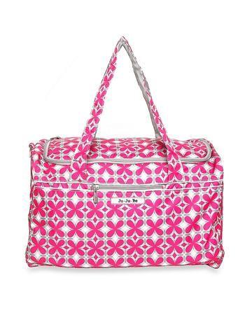 Ju Ju Be Для путешествий Starlet pink pinwheels  — 4500р. ------ Сумка Starlet pink pinwheels Ju Ju Be - стильная и вместительная модель, прекрасно подойдет для путешествий, поездок на море и занятий спортом. Основное отделение застегивается на молнию в верхней части сумки, также имеется передний внешний карман  для до...