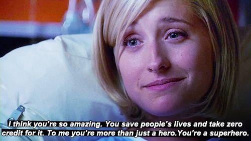 You're a superhero.