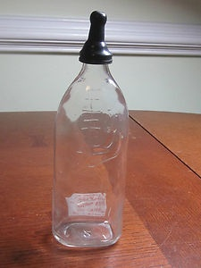 antique baby bottle... i have mine...my aunt gave it to me at my baby shower 34 years ago!