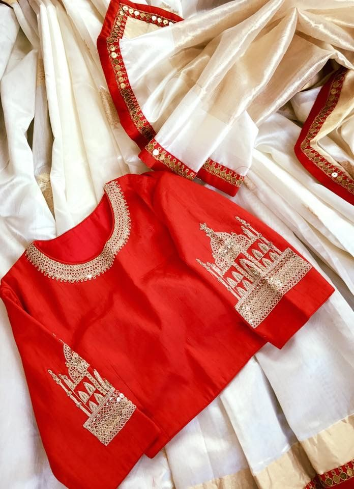 Tajmahal sleeve blouse