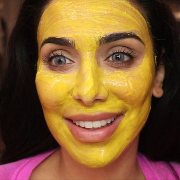 This DIY Tumeric Face Mask Will Help You Avoid Staining While Still Getting Those Beauty Benefits — VIDEO