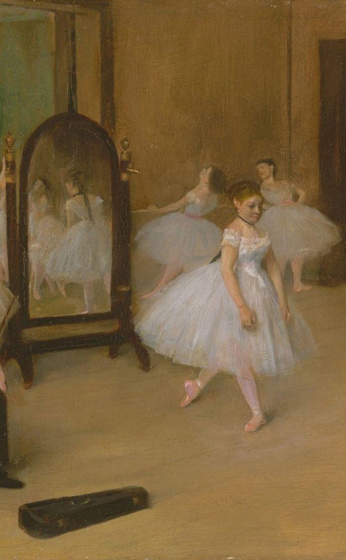 he Dancing Class (c.1870). Edgar Degas (French, 1834–1917).
