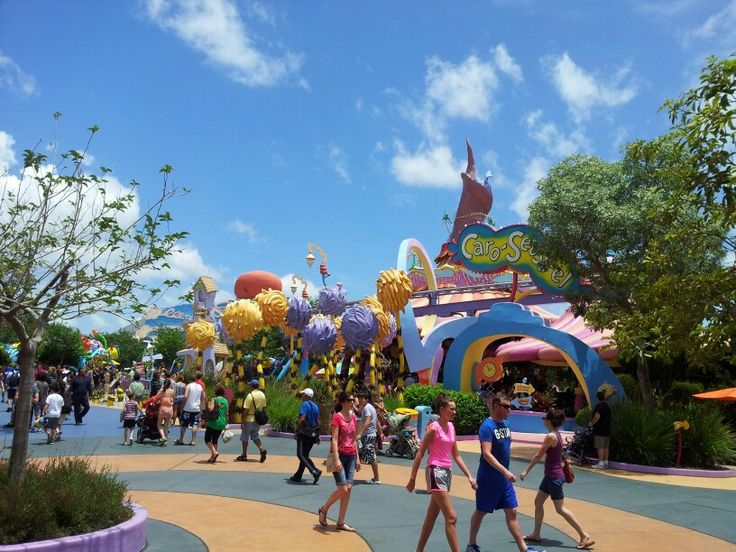 Dr Seuss land at Islands of Adventure