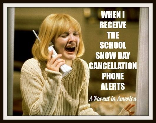 Snow Day Mom Memes - Jessica McFadden is A Parent in America – One Funny Mother Blogger