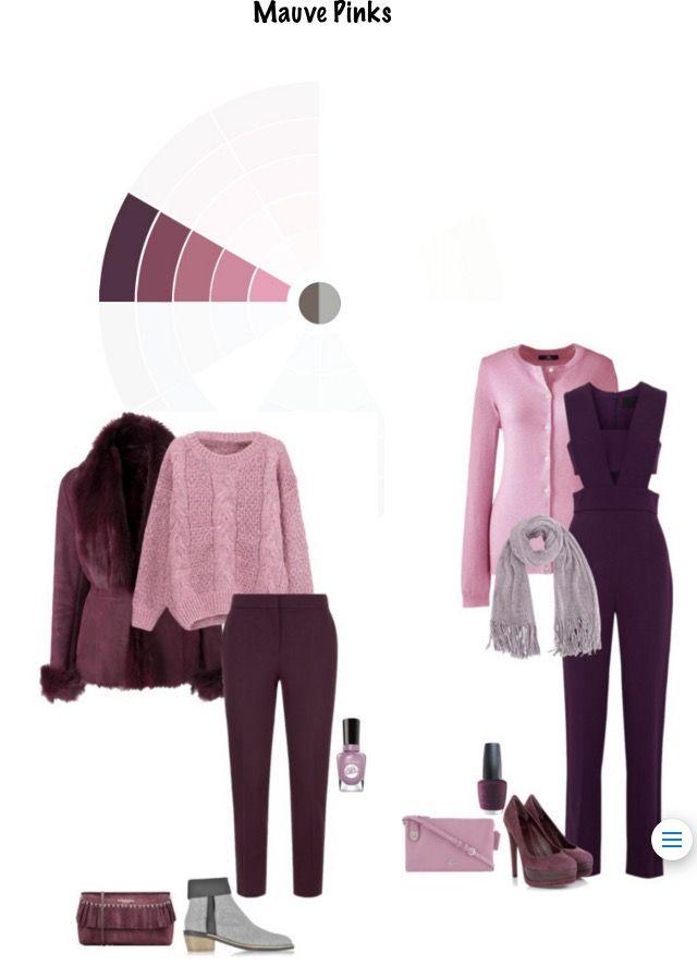 Bordó és rózsaszín