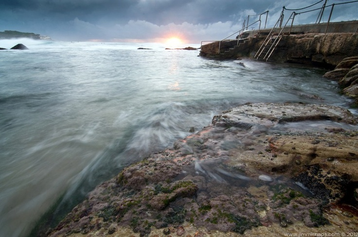 Lichen - Moody sunrise, just a touch of colour poking through.  This image is available to buy, just follow the link.