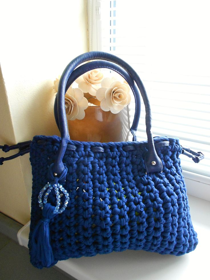 My first crochet handbag