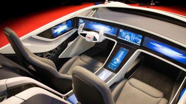 Bosch presenta un vehículo futurista lleno de pantallas para ofrecer todo tipo de información   Bosch sigue su camino para lanzar al mercado su propio coche autónomo previsto para el 2020. En abril del año pasado ya mostraba su visión basándose en un Tesla Model S y en este CES 2016 han querido ir más allá llevando su propio prototipo para que nos podamos hacer una mejor idea de cual es el concepto que están persiguiendo.  Se trata de un vehículo futurista lleno de pantallas para ofrecer…