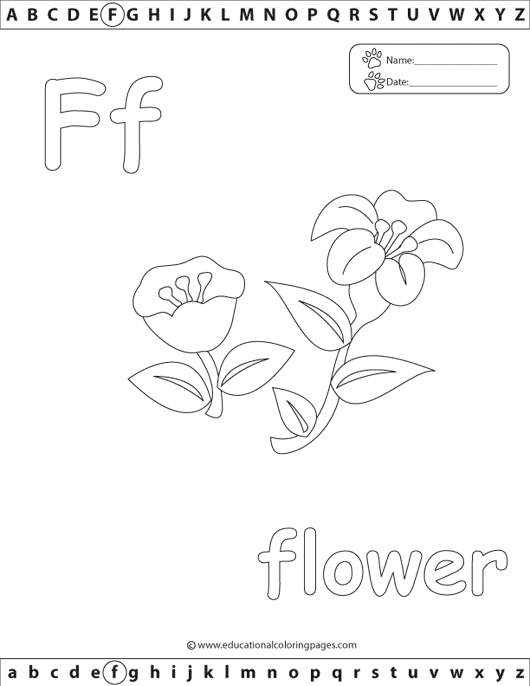 eating the alphabet coloring pages-#42