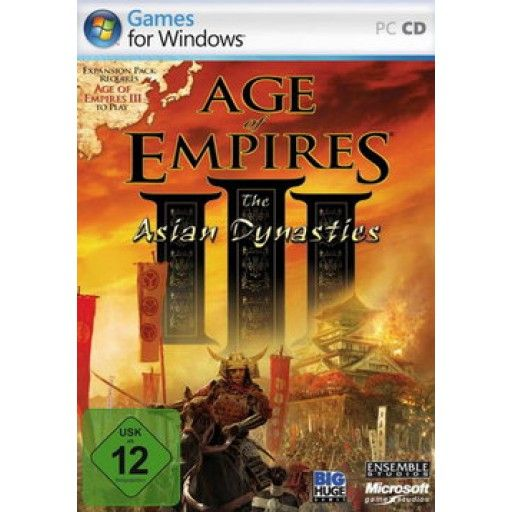 Age of Empires 3 - The Asian Dynasties  (Add On)  PC in Strategiespiele FSK 12, Spiele und Games in Online Shop http://Spiel.Zone