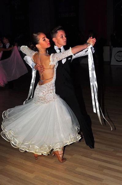 Пошив детского платья для бальных танцев