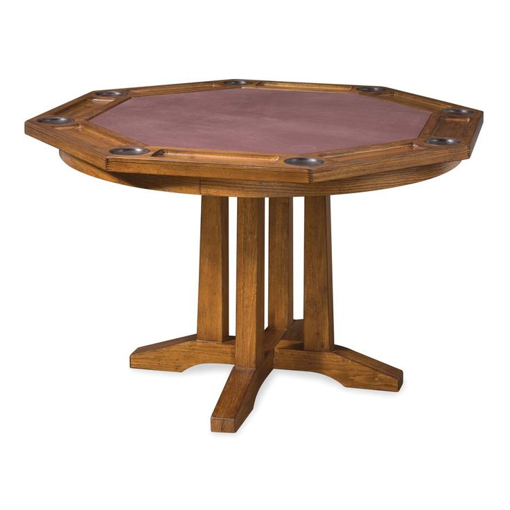 Invite Friends Or Family Over For A Game Night With This Arts And Crafts Table Dining Surface Quickly Turns Into Felt Lined