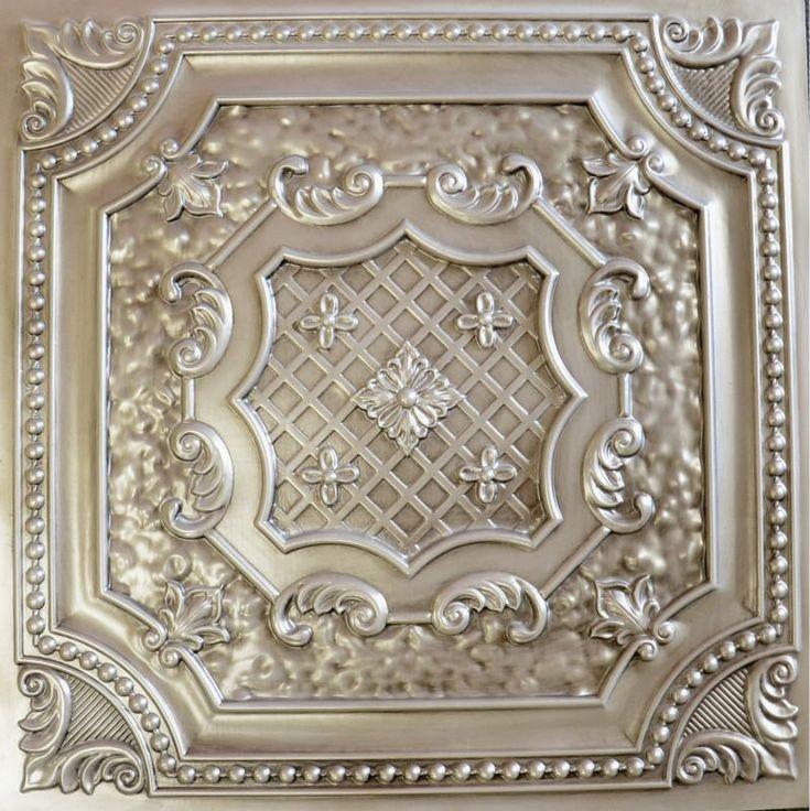 Faux tin ceiling tile $8.99~$9.99