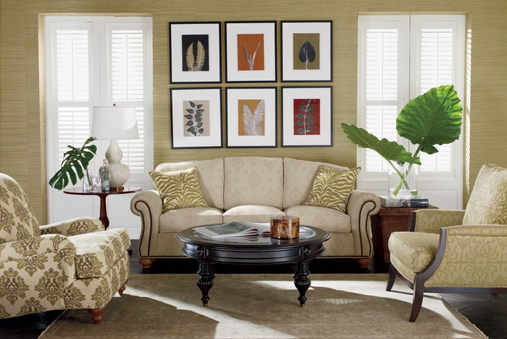 17 best images about ethan allen on pinterest leather - Ethan allen living room inspiration ...