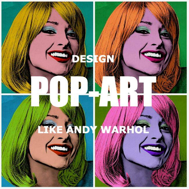 Design pop art like Andy Warhol, PicMonkey has tools you need to make beautiful art. https://www.picmonkey.com/blog/pop-art-maker/