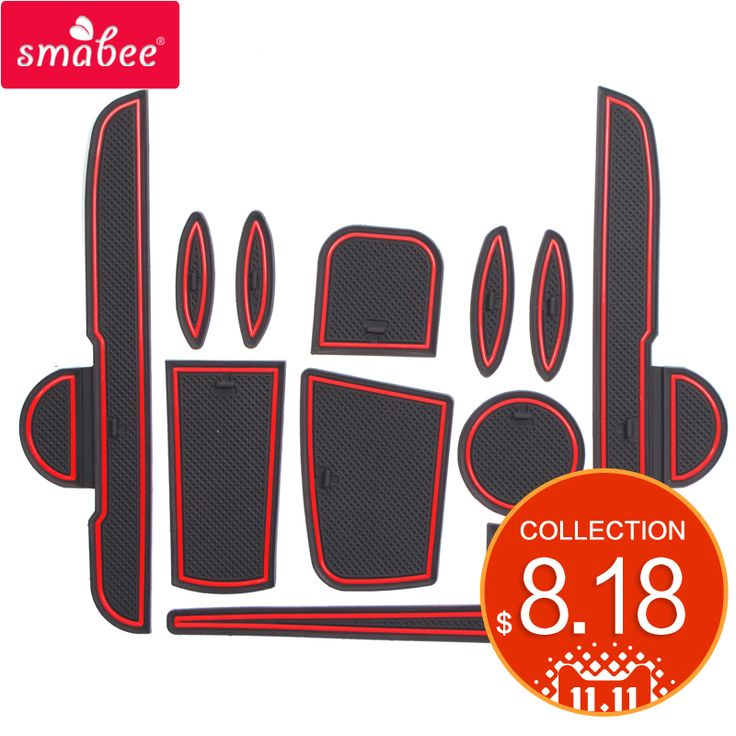 compare prices smabee for toyota viosyaris 2014 2017 gate slot mats interior door padcup #white #interior #doors