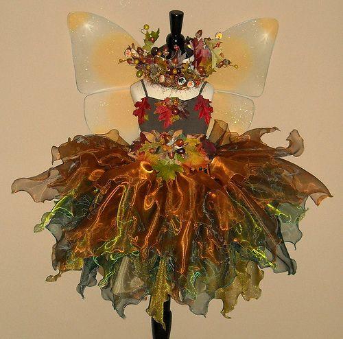 Acorn Faerie  costume by Fairy Nana, via Flickr