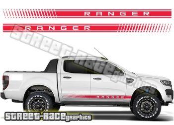 Ford F-150 Ranger side stripes
