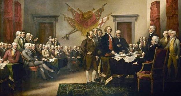 Frumoasa verde: Declarația de independență a Statelor Unite ale Am...
