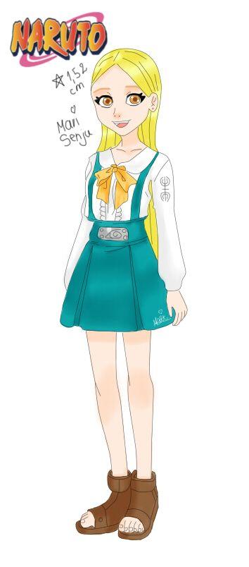 Mari Senju Genin Mei terumi( tía de Mari)  Hinoko ( hermana de Mari, aparece en shikamaru hiden)  Tsunade Senju( tía de Mari) Shizune ( mentora de Mari, es como su hermana)  Killer Bee( abuelito de Mari)  Raikage( tío abuelo)