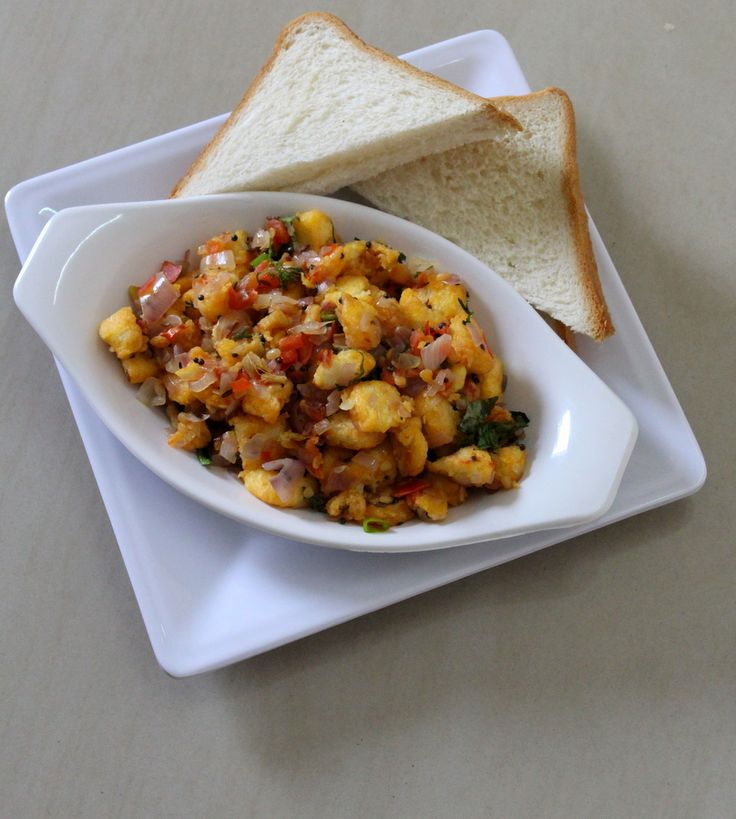 Bread upma recipe is a snack item recipe tried out with bread and something that can be made instantly with basic ingredients that are used for tempering...