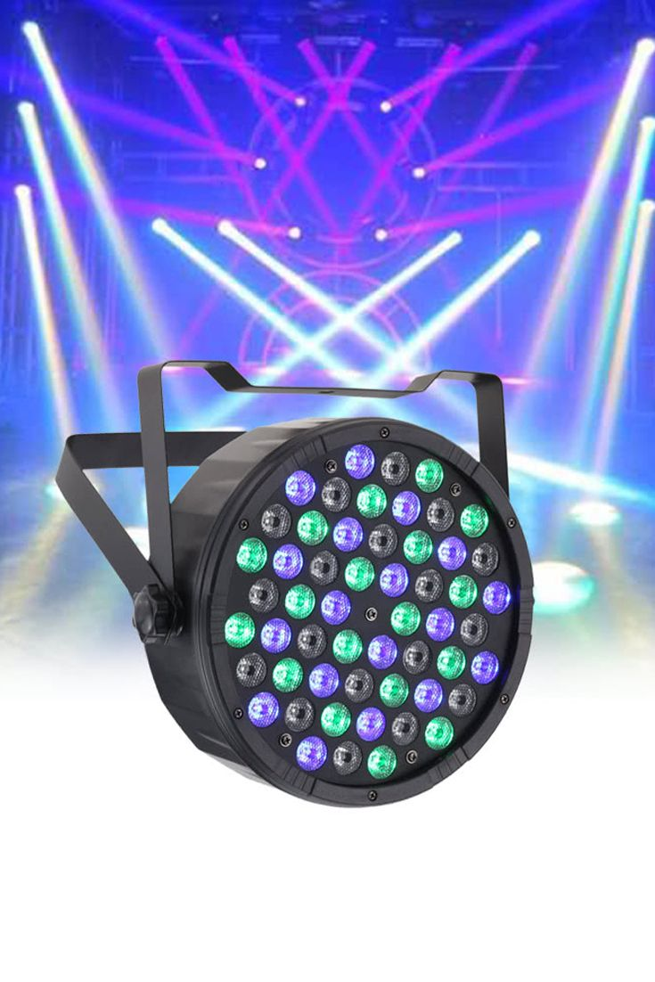 This PAR light provide wash light in RGBW 16.7 million kinds of colors. With color jumping, strobe and dimming effect, it will make your stage impressive. Stage lighting, stage lights, affordable stage lighting, best dj lights, best led stage lights, bright stage lights, cheap concert lighting, colored stage lights, colorful stage lighting, concert lighting effects, concert lighting equipment, cool stage lighting, dance stage lighting, disco lights, discount stage lighting