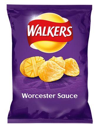 Walkers Crisps Worcester Sauce