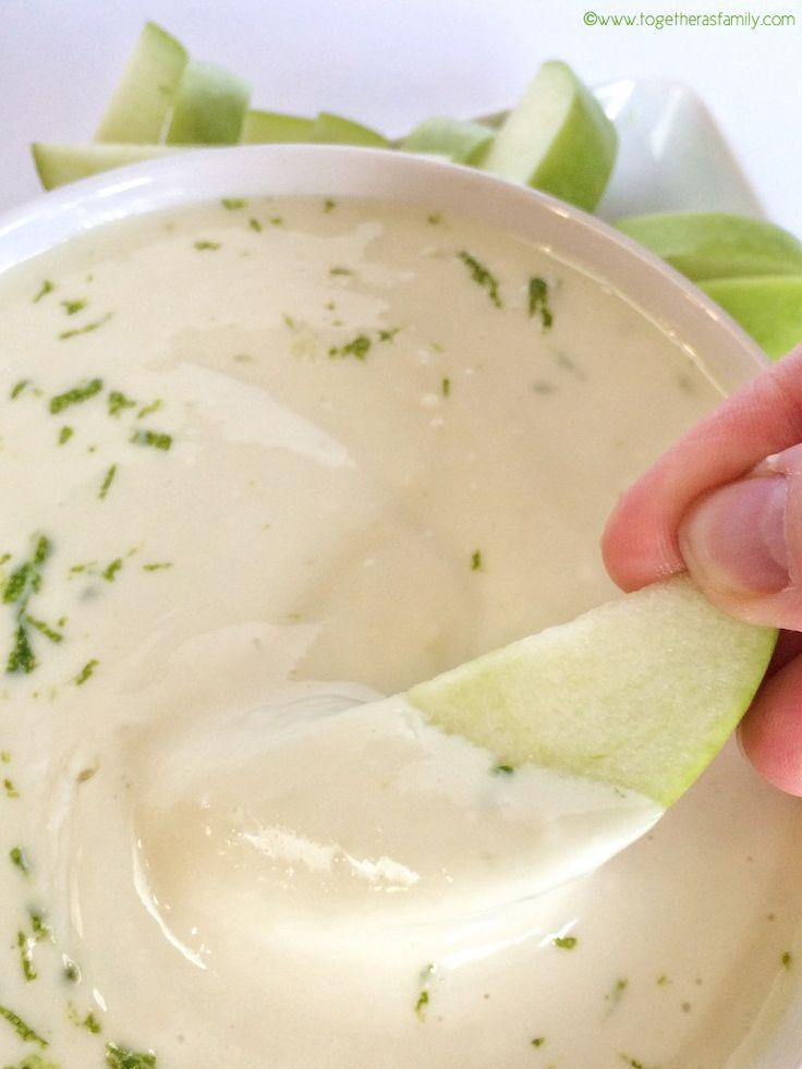 KEY LIME CHEESECAKE FRUIT DIP | www.togetherasfamily.com