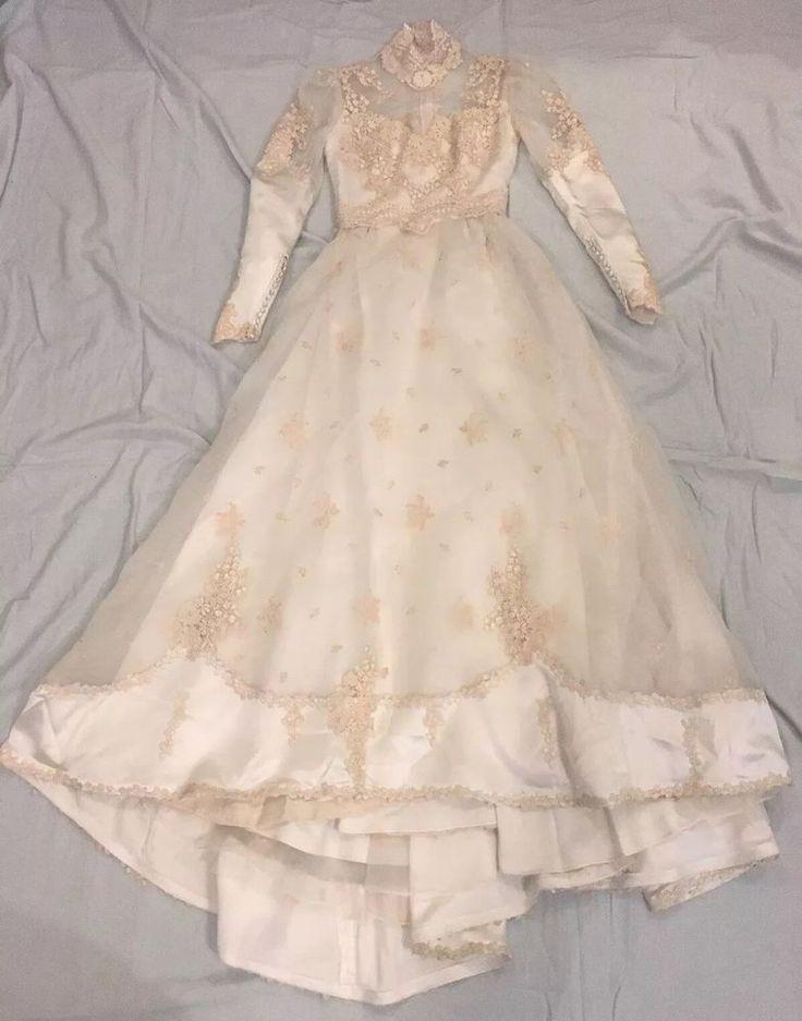 Vintage Priscilla of Boston Wedding Dress  ca early 80s