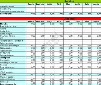 Planilha Simplificada de Orçamento Doméstico download (gratis) - Baixaki - última versão em português no CCM