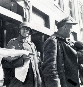 Groningen 1940-1945 Overgave in de Poelestraat