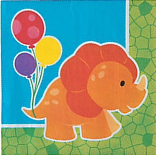 DINOSAUR-PARTY-Little-Dino-Lunch-Dinner-Napkins-pack-of-16-3-ply