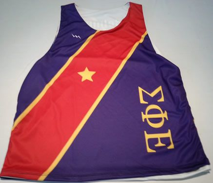 Sigma Phi Epsilon Basketball Jerseys - Sublimated Fraternity Jerseys