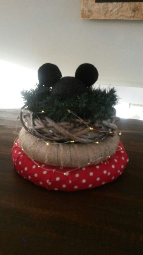 Kerst krans Mickey Mouse