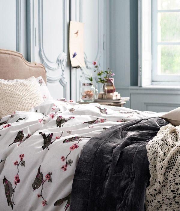 Bedroom decor with a Spring feeling - Inredningsvis