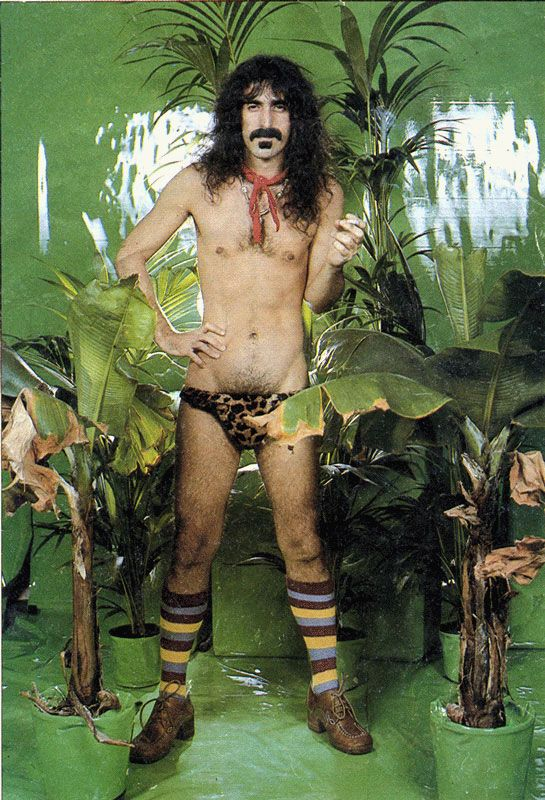 """Frank Zappa: """"You can't always write a chord ugly enough to say what you want to say, so sometimes you have to rely on a giraffe filled with whipped cream."""""""