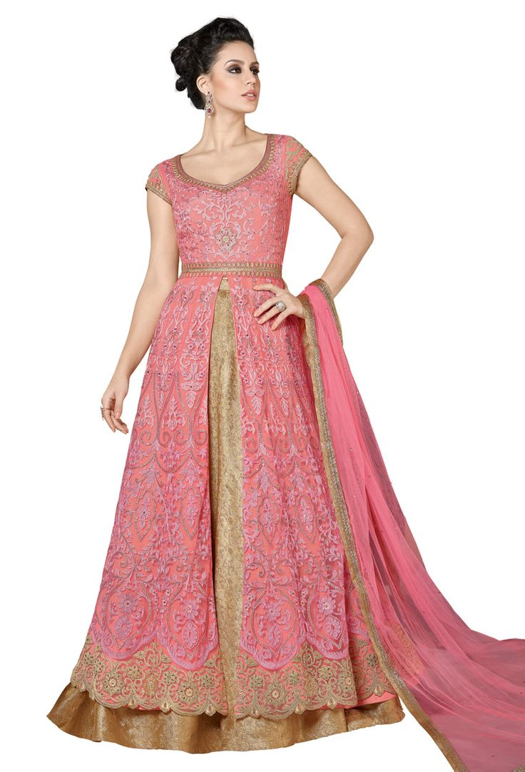 Light Pink Net Achkan Style Partywear Salwar Suit #stylish #stylishsuit #stylishindiansuit #stylishsalwarkameez #salwarsuitonline #onlinesalwarkameez #dress #onlineindiandress #sale#nikvik #freeshipping #usa #australia #canada #newzeland #Uk #UAE