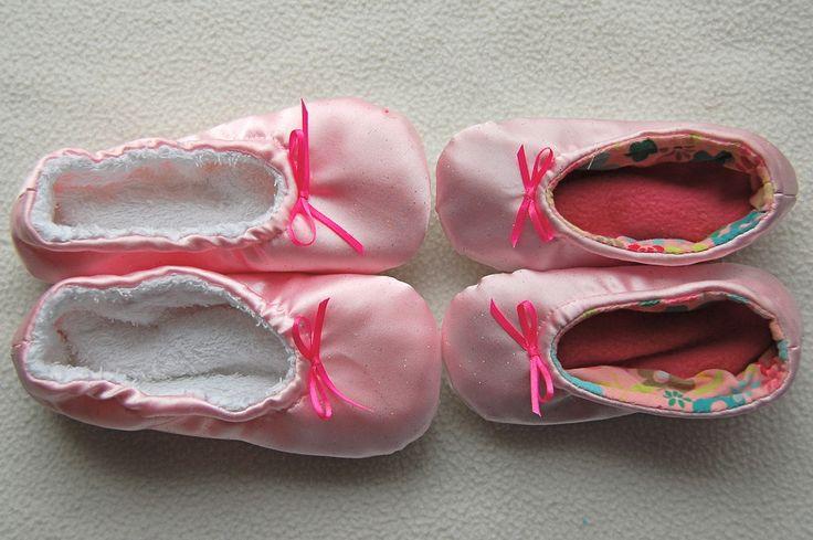 Petits chaussons enfants avec tuto en anglais