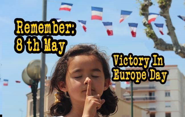 Onother French Holiday I did not know existed. May 8 1945: Remember Victory in Europe day: France