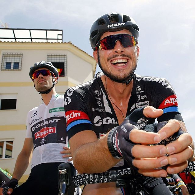 John Degenkolb is having fun ahead of LaVuelta stage 8.