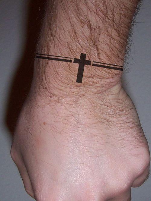 small male cross tattoos - Google Search