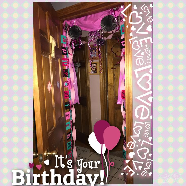 1000+ Ideas About Birthday Morning Surprise On Pinterest