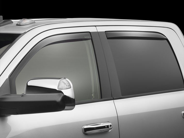 2016 Dodge Ram Truck 2500 3500 Rain Guards Side Window Deflectors For Cars Trucks Suvs And Minivans Weathertech Dodge Trucks Ram Classic Cars Mini Van
