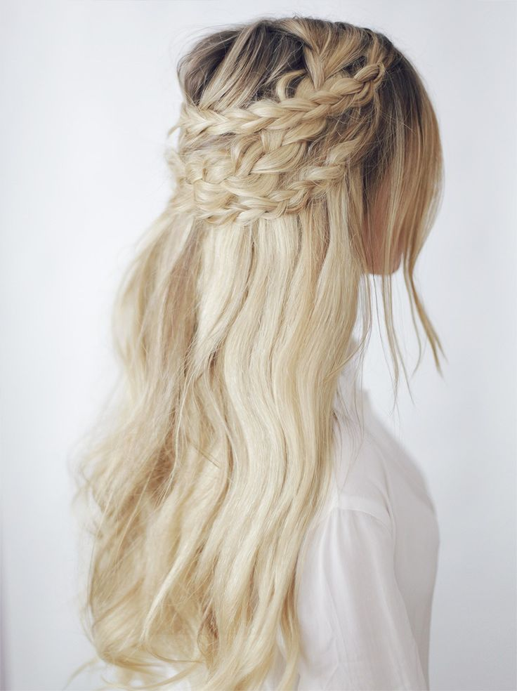 Double Wrap Around Braid Tutorial