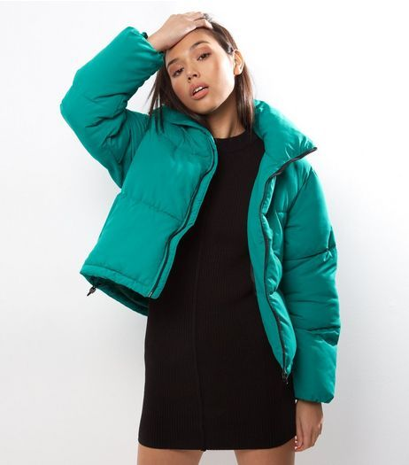 Green Puffer Jacket | New Look