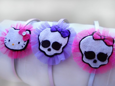 MONSTER HIGH Y HELLO KITTY