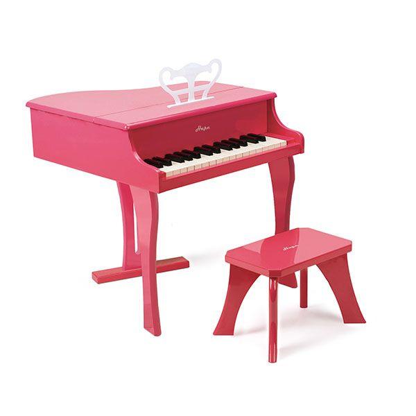 Hape Happy Grand Piano, Pink - #Piano #Music #Learn #Kids