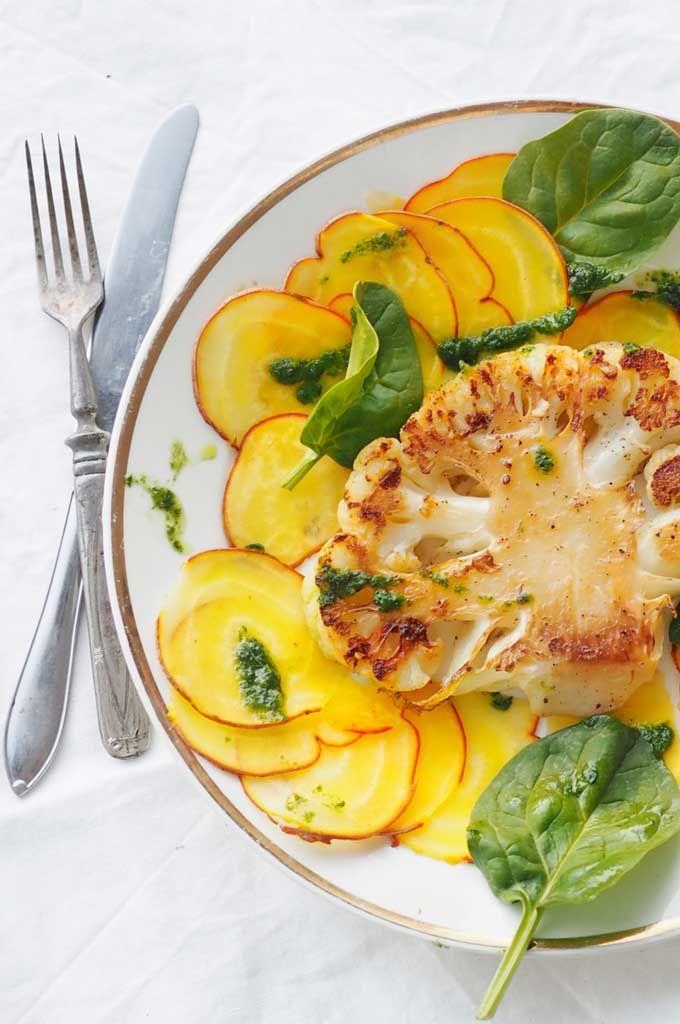 New vegan menu blog post at the our site! 5 recipes included..  KUKKAKAALIPIHVIT BASILIKAÖLJYLLÄ BY KARITA TYKKÄ