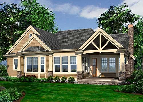 17 Best Images About Craftsman Homes On Pinterest 3 Car